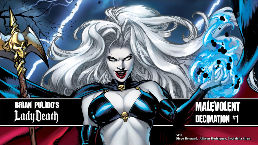 Lady Death The Official Website Ladydeathuniverse Com The Official Website For Brian Pulido S Lady Death